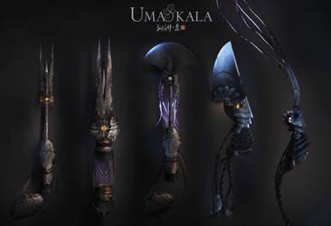 Umakala, moonshine nanliang weapons by armsav