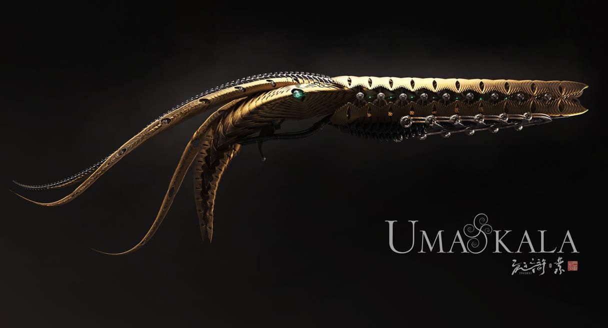 Umakala, light side guns by armsav