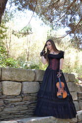 Violin's Whisper Stock I by Obliviate-Stock