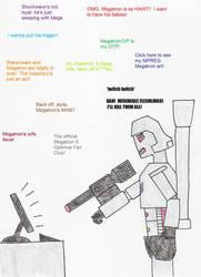 Why Megatron Hates Humans by kenyastarflight