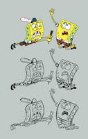 Spongebobs by brianpitt