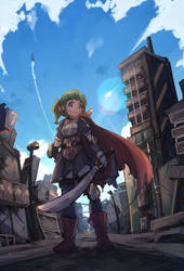 Future Knight by FranLoL
