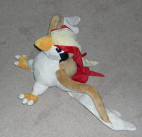 Pidgeot plush by Bladespark