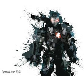 Abstract War Machine by necronomicon32