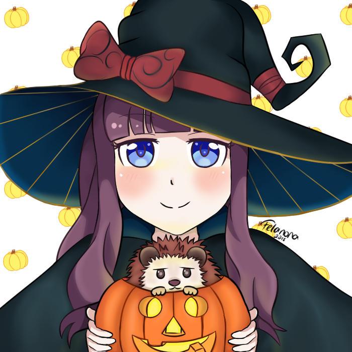Witch Hifumi by Felanora
