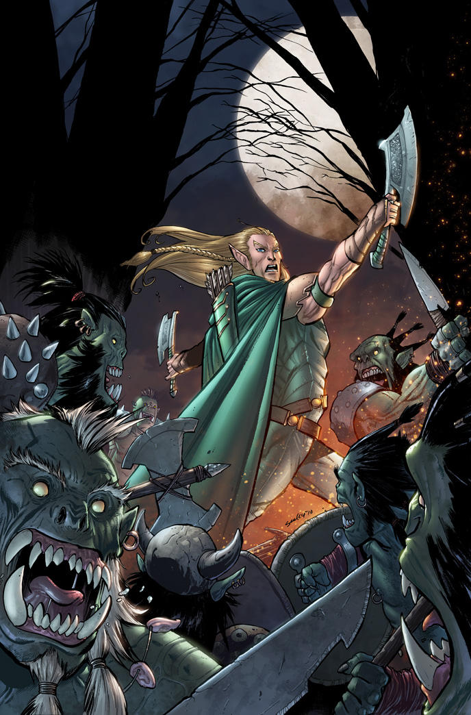 Dungeons and Dragons 3 cover by aburtov