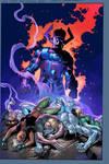 Cataclysm #3 cover by aburtov