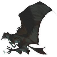 Lanian flying mount by spiralofvertigo