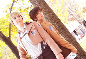 Recruits of the Survey Corps by ElliotCosplay