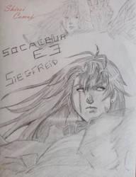 Siegfried : Soul Calibur by Shiroi-Camui