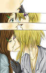 Sarah and Jareth Cute kiss by Aniyumex
