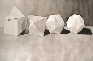 Still Life in Geometry by naphtali