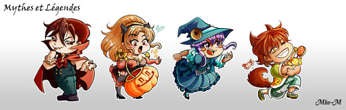 Magnets Halloween by Mzel-M