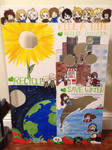 Hetalia Earth Day Project by CreekWhereSnowFalls