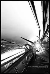 Dark Collision In The Subway by SheDArT
