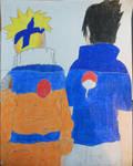 Young Naruto and Sasuke by dr12002610