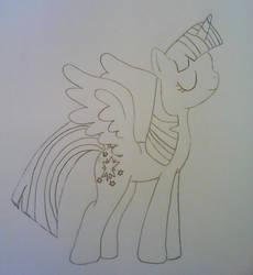 .Princess Twilight Sparkle. by FMAandYGO5dsgirl