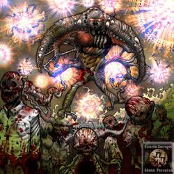 Cosmic Zombies by NECROGODMETAL