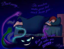 Under Your Bed by TicklishTouch