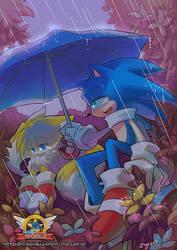 In the rain ---night version by ZiyoLing