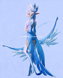 ::DragonNest:: Feather Archer by ZiyoLing