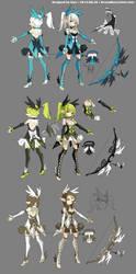 DragonNest Costume design-Archer by ZiyoLing