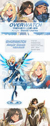 OVERWATCH Acrylic Stands + Charms by ZiyoLing