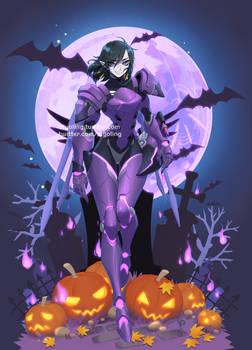 [Overwatch] Halloween Pharah by ZiyoLing