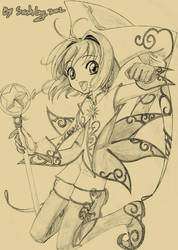 Sakura Fan art by ZiyoLing