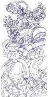 Vile or Vava, Mega Man X by Omegachaino