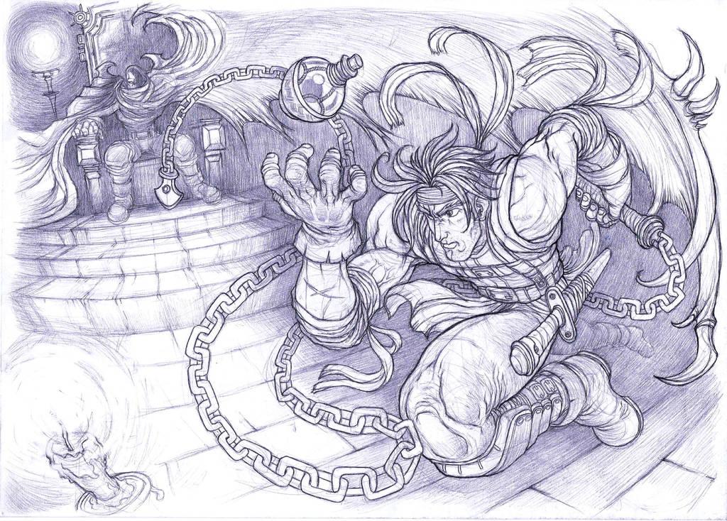 Castlevania, Richter Belmont by Omegachaino