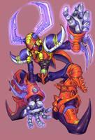 Mega Man X, Boomer Kuwanger by Omegachaino