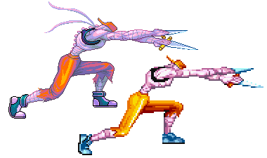 Mack The Knife, Captain Commando, Pixel Upgrade. by Omegachaino