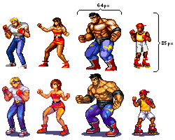 Street Of Rage 2 ver04 by Omegachaino
