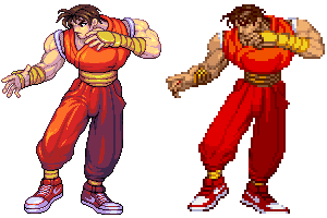 Guy, Final Fight, Street fighter alpha ,ver01 by Omegachaino