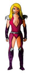 EndiKombat - Lydia [Character Concept Sketch] by HarveyStudios