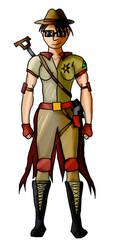 EndiKombat - Kelsey [Character Concept Sketch] by HarveyStudios