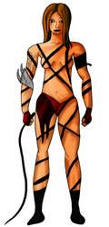 EndiKombat - Jordan [Character Concept Sketch] by HarveyStudios