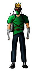 EndiKombat - John [Character Concept Sketch] by HarveyStudios