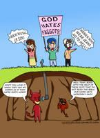 Cartoon 6 - Dirty Work by eJcalado