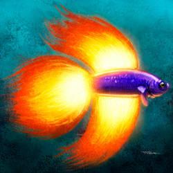 Fire Fish by TattoDurden