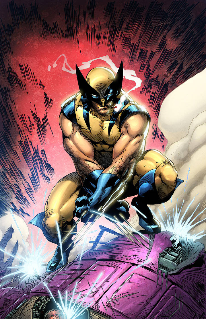 Wolverine Colors (just for fun) by TattoDurden
