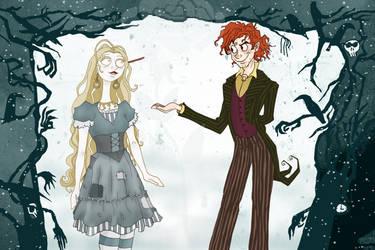 George x Luna Burton Style by Weasley-Detectives