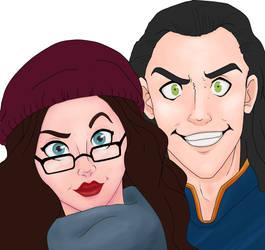 Darcy x Loki by Weasley-Detectives