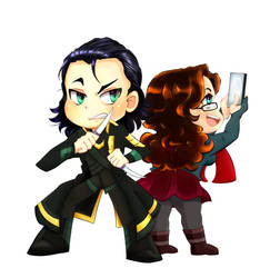 Ickle Loki / Darcy by Weasley-Detectives