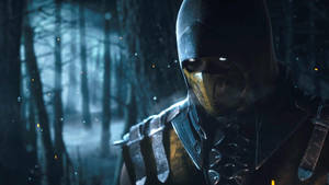 Mortal Kombat X Scorpion 1080p by Sakis25