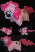 Custom Pinkie Pie Pillow Pet Style Plush by Sophillia