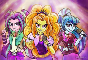 The Dazzlings by Sophillia