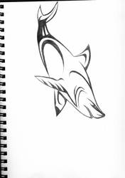 Great White Tribal by imaginationhaven