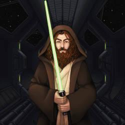 Jedi Master by shiicolate